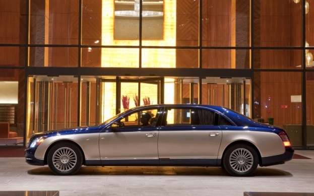 2011 Maybach 62 Guard Armored Limousine