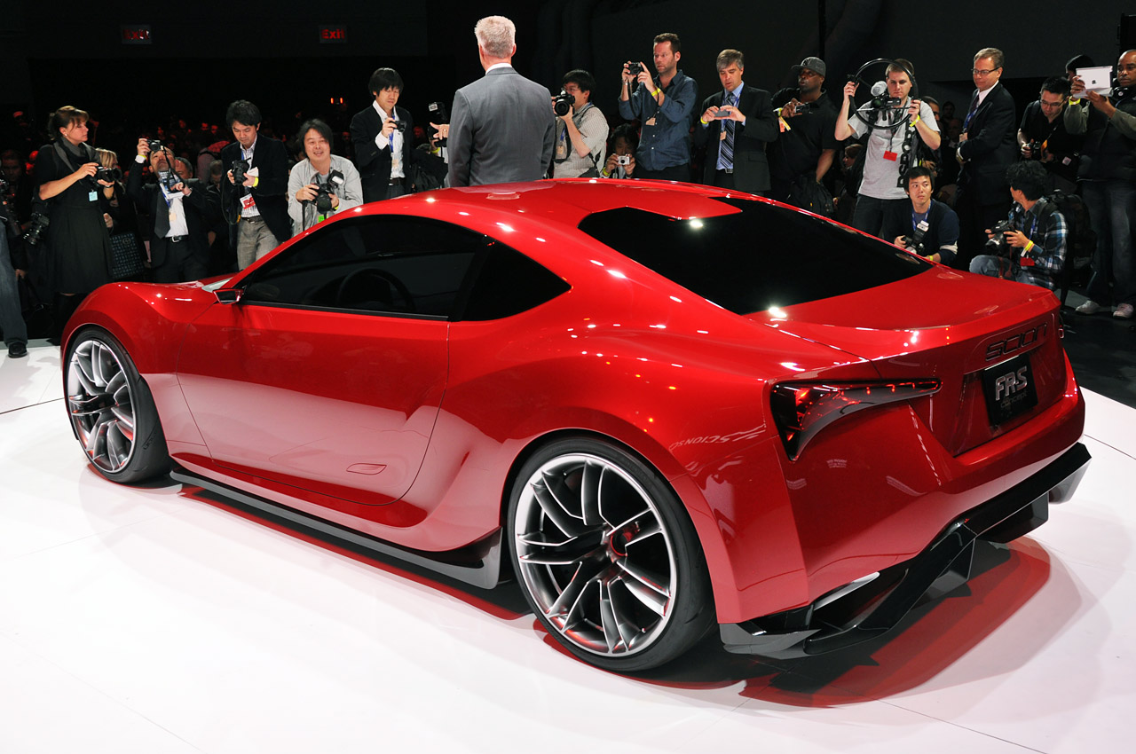 scion fr concept frs toyota gt86 86 sedan release date redesign tc balance fast powertrain ft pure rendition another closer