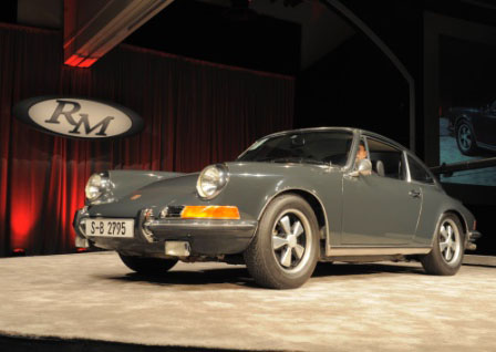 RM Auctions Porsche King of Cool McQueen