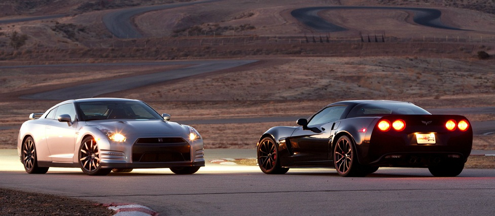 2013 Nissan GTR versus the 2012 Chevrolet Corvette Z06 Centennial Edition