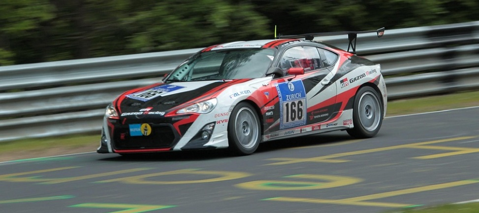 Gazoo Racing Toyota GT86 Concept takes Class Win at Nurburgring