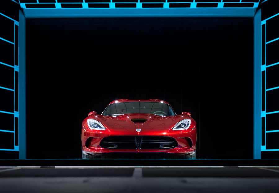 New Dodge Viper SRT Introduced and Auctioned