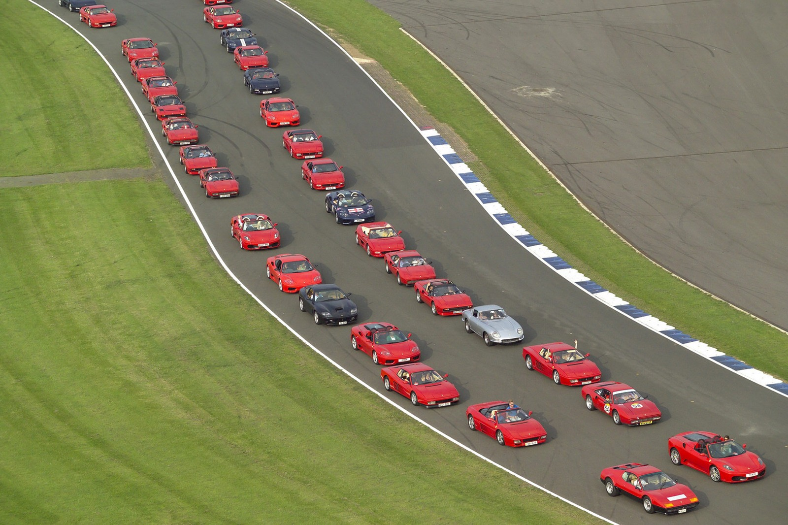 Ferrari to set world Record at Silverstone