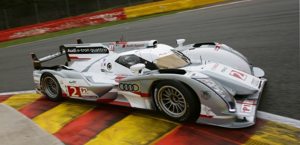 Audi R18 e-tron Quattro a Closer Look at the Hybrid Race Car