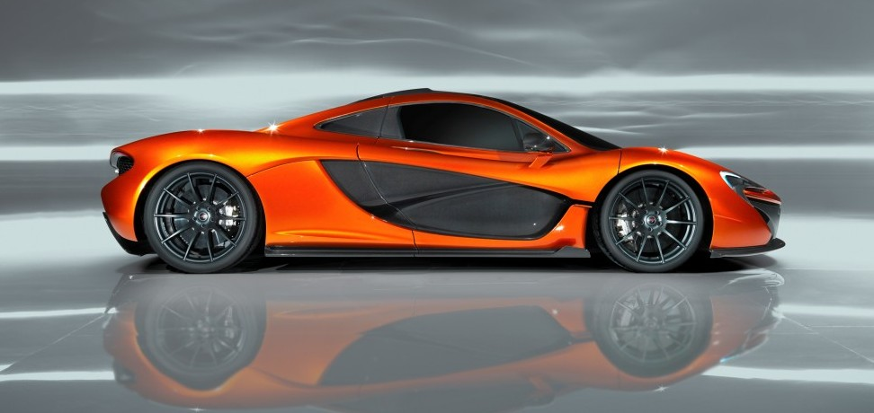 McLaren P1 Revealed at Paris Motor Show